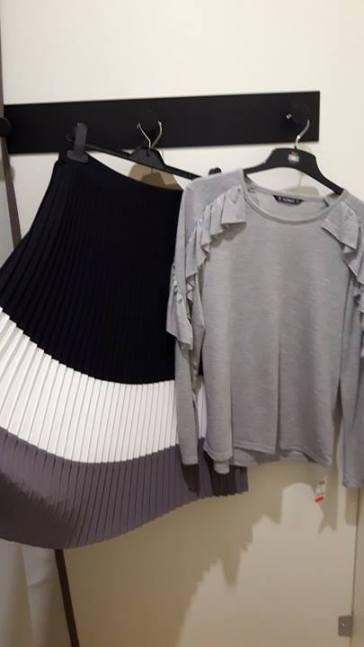 dunnes skirt and jumper