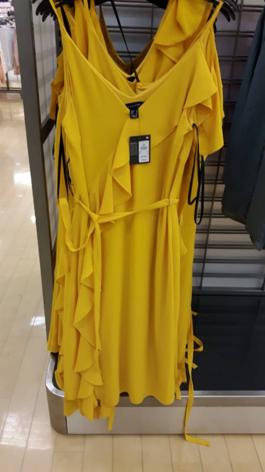 penneys dress yellow-adore.jpg