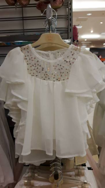 penneys girls top floaty blouse