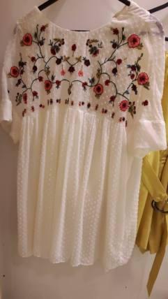 zara dress on own