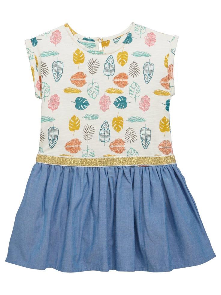 blog 30th leaf dress girls