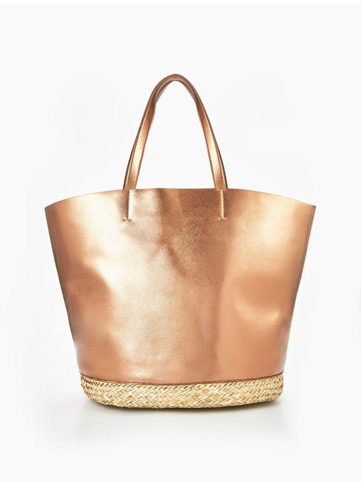 blog 30th littlewoods 20euro beach bag rosegold