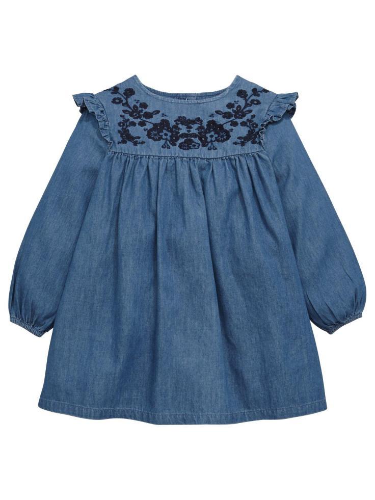 blog 30th littlewoods denim dress 14euro