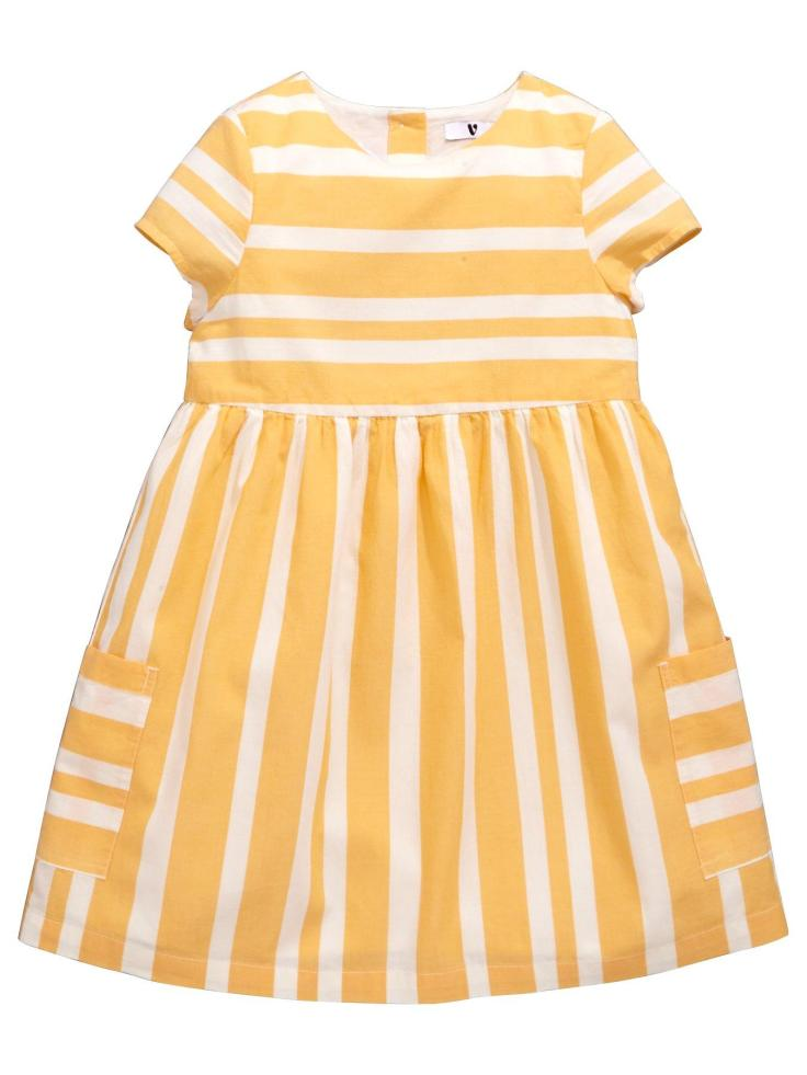 blog 30th yellow girls dress