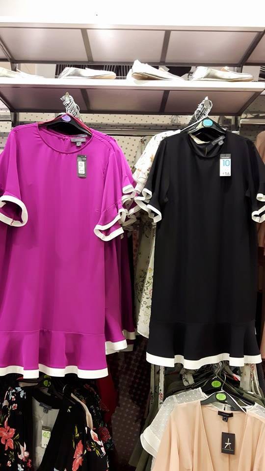 p black and pink dresses