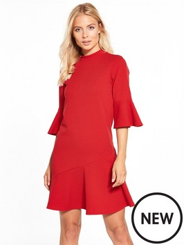 11th red littlewoods dress