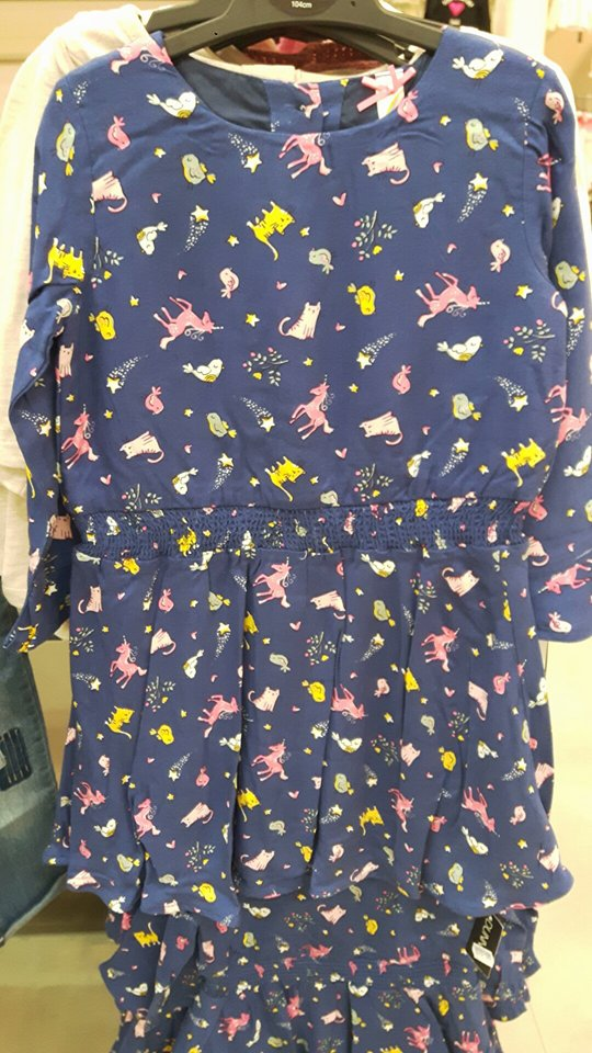 25th dunnes unicorn dress