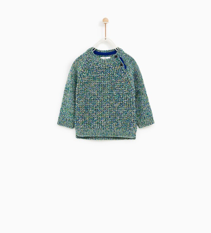 25th zara boys knit