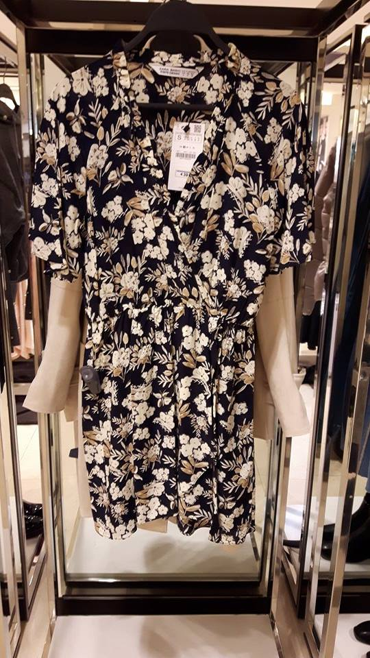 31st zara floral dress womens