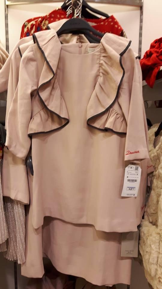 31st zara girls frill dress