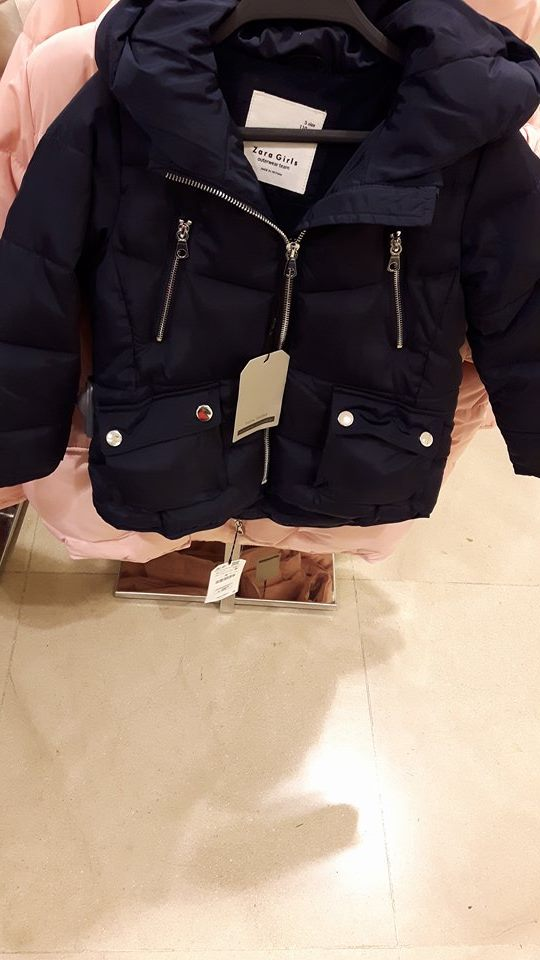 31st zara girls navy coat
