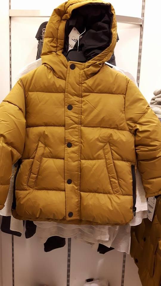 31st zara mustard boys jacket
