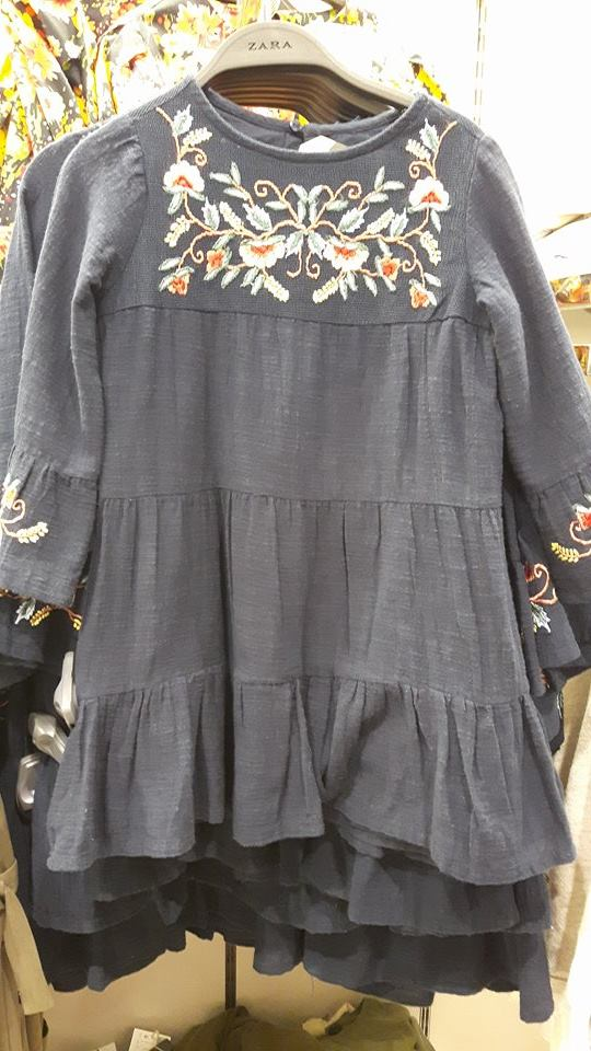 31st zara navy dress