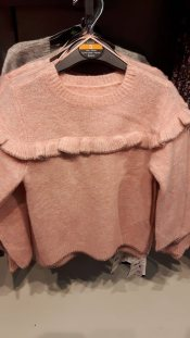 28th dunnes girls frill jumper