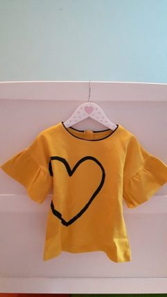 28th mothercare mylene yellow tshirt