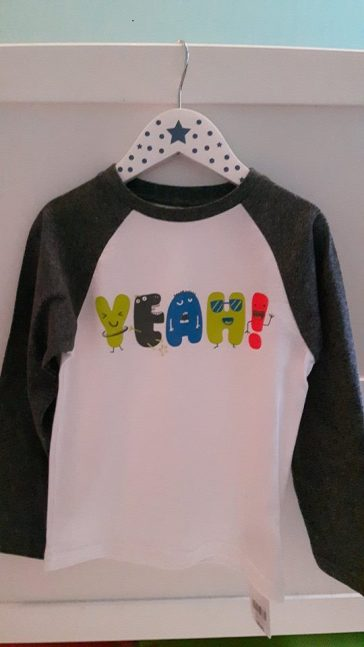 28th mothercare yeah jumper