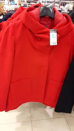 28th penneys red coat