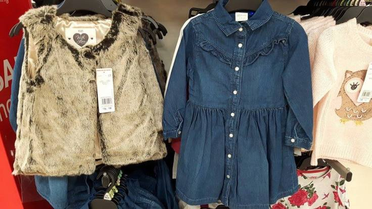 28th tesco denim dress and shrug girls