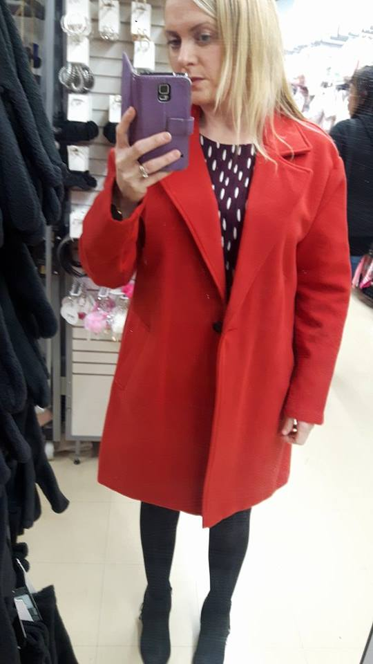28th tesco red coat