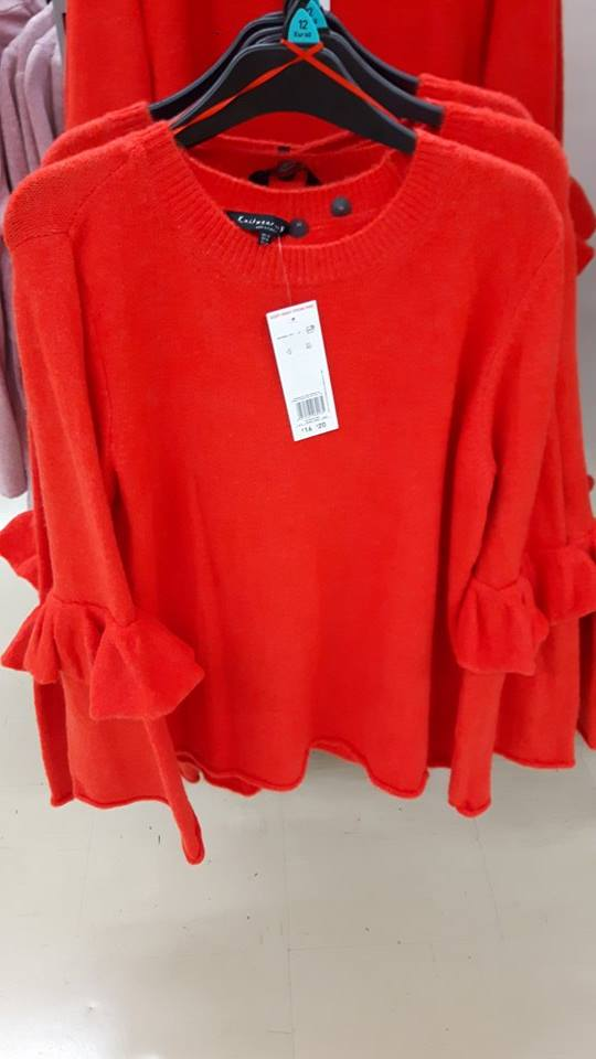 28th tesco red jumper
