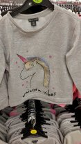 8th girls unicorn jumper