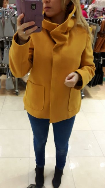 8th penneys mustard coat 2 close up