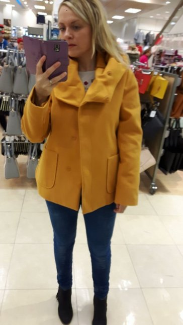 8th penneys mustard coat
