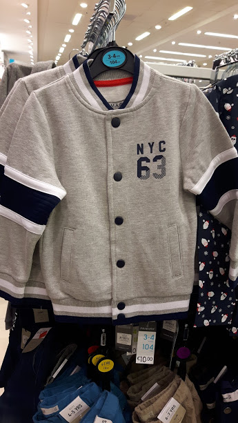 13th 10euro baseball coat