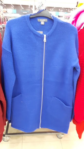 13th penneys cobalt blue cardi