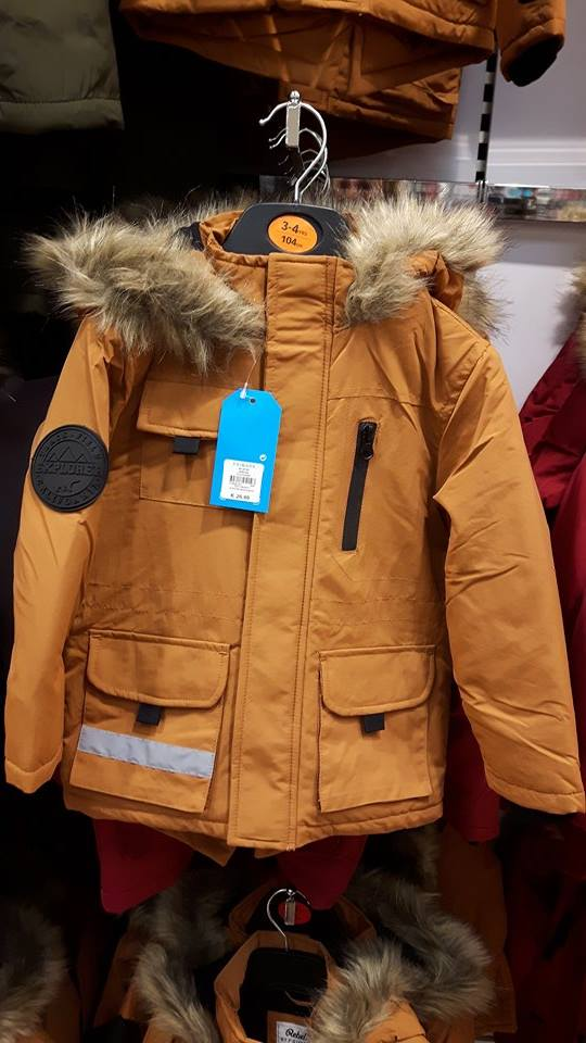 6th boys winter coat