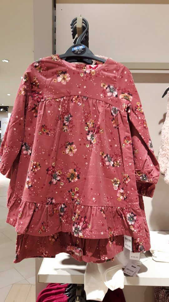 6th dunnes floral dress girls