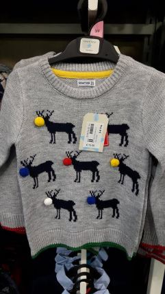 heatons girls jumper christmas