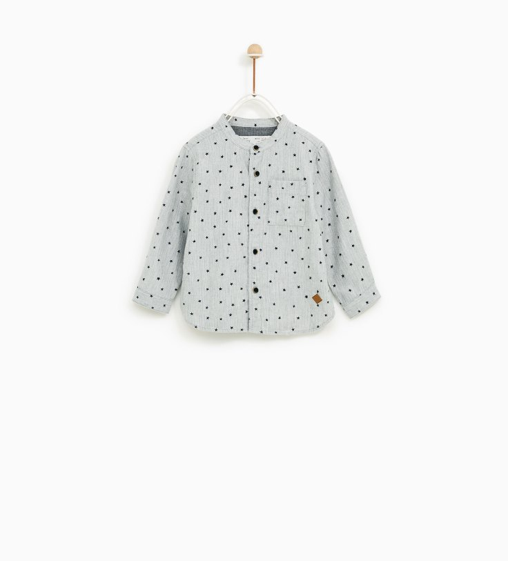 Zara star shirt