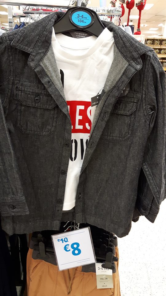 boys black denim