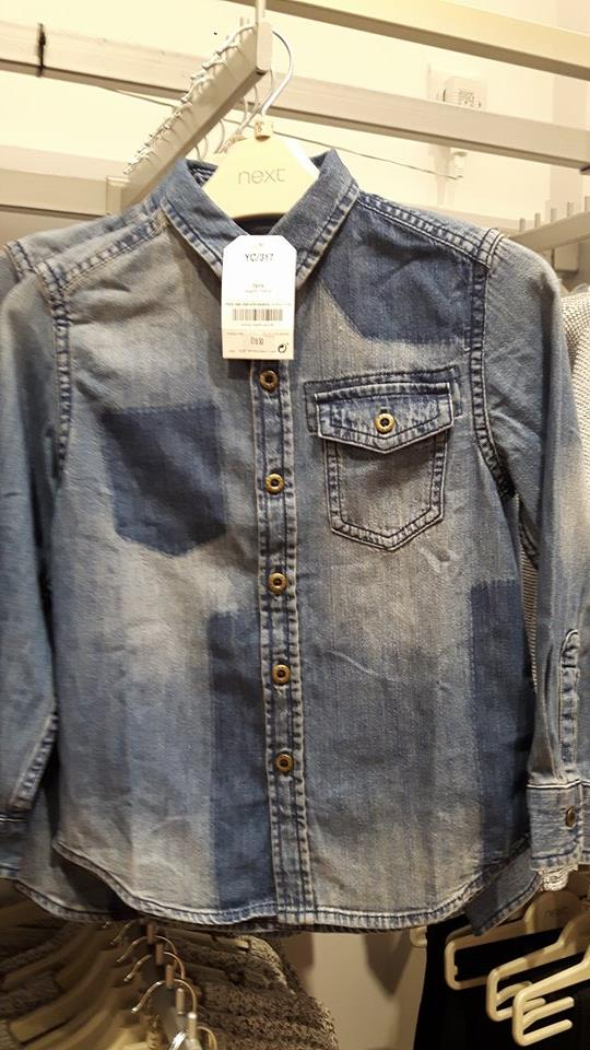 boys denim shirt next