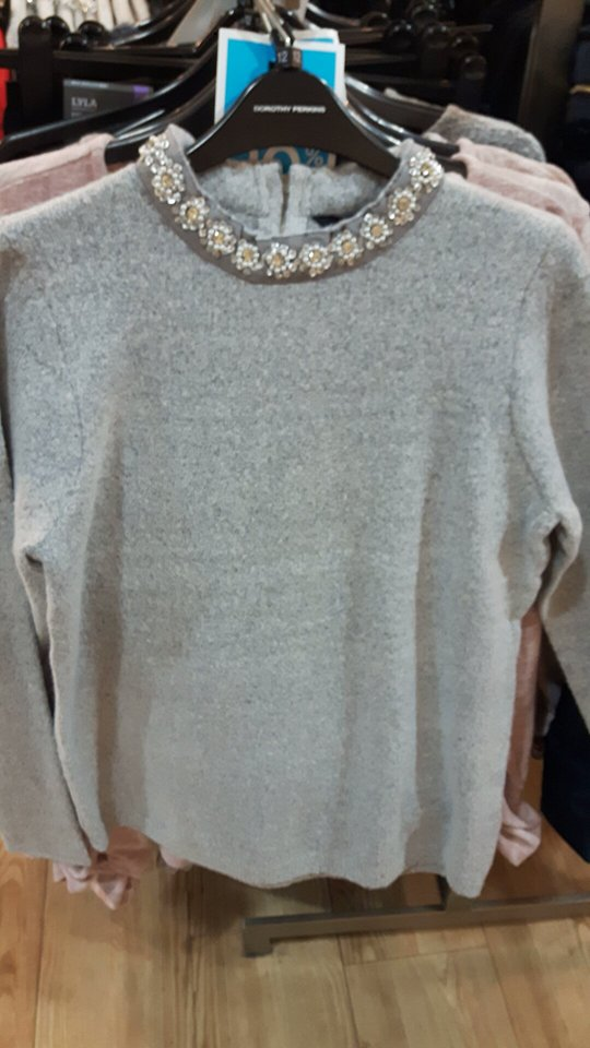 dp grey jumper