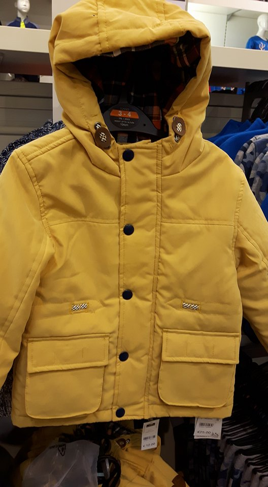 dunnes boys coat