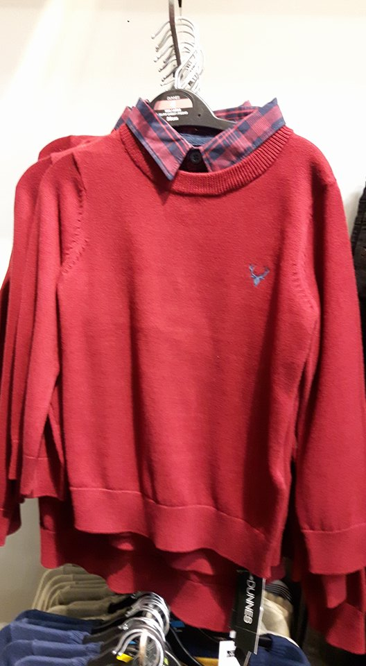 Dunnes boys red jumper.jpg