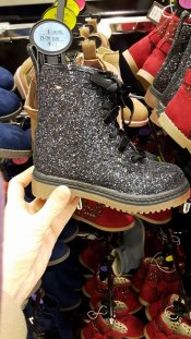 girls glitter docs