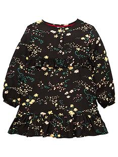 lwoods girls floral dress