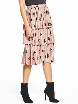 lwoods star pink skirt