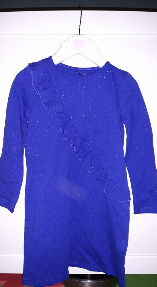 ms blue dress