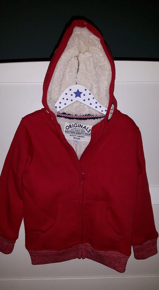 ms red hoodie