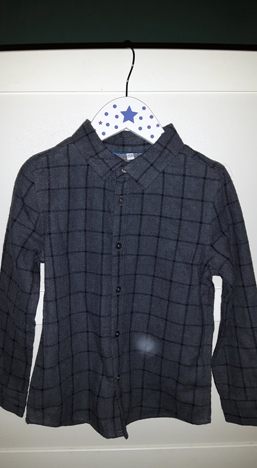 ms shirt grey