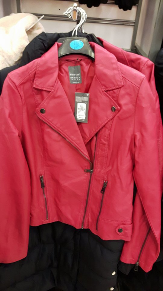 red leather penneys