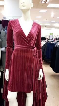 wine dress 1