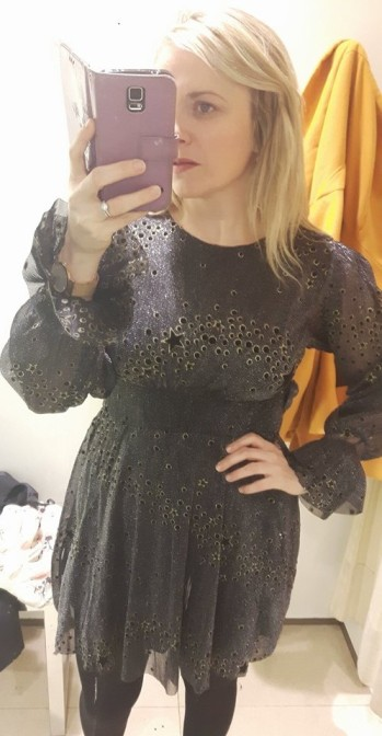 zara star dress 1