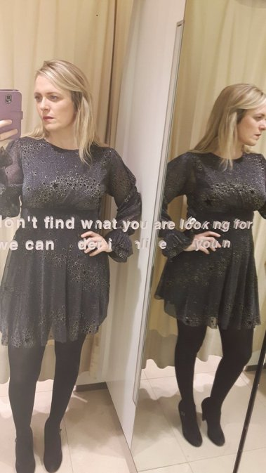 zara star dress 2