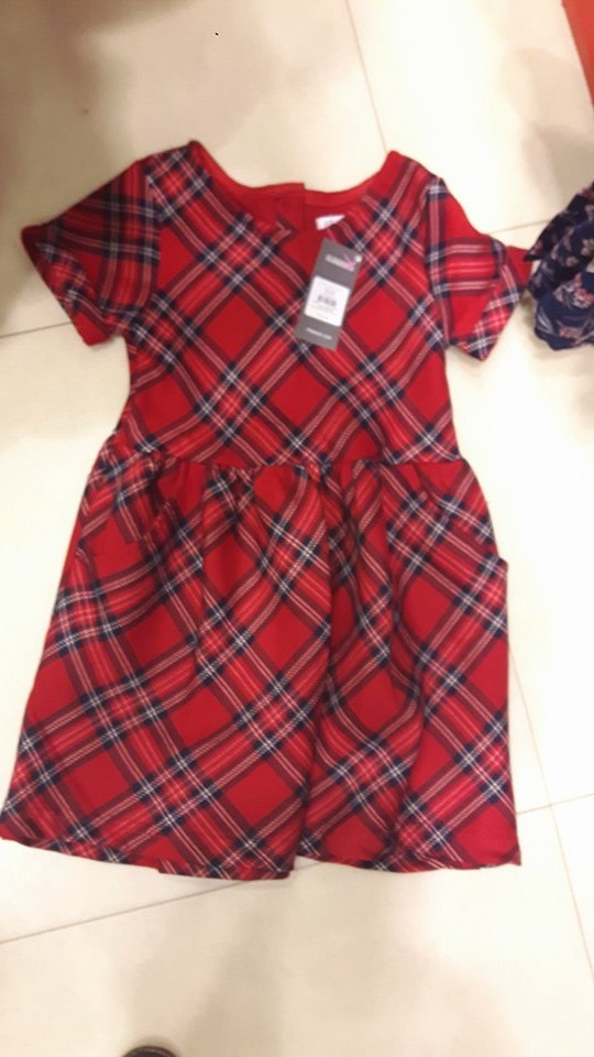 penneys tartan dress