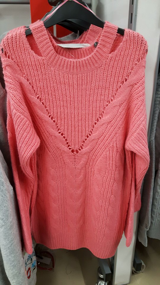 tesco jumper dress pink
